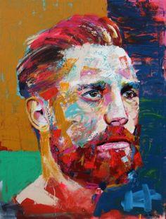 "Saatchi Art Artist Jonathan McAfee; Painting, ""Alex"" #art"