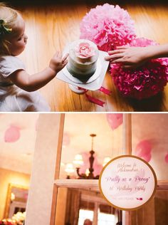 """Birdie Inspired """"Pretty as a Peony"""" First Birthday Party"""