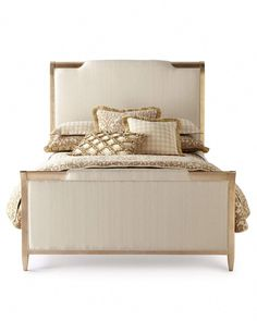 Shop Nite in Shining Armor California King Bed from caracole at Horchow, where you'll find new lower shipping on hundreds of home furnishings and gifts. Cream Bedroom Furniture, Home Furniture, Furniture Design, Handmade Furniture, Furniture Sets, Asian Furniture, Bedroom Bed, Furniture Companies, Master Bedrooms
