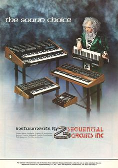 Sequential Circuits Anzeige 1982