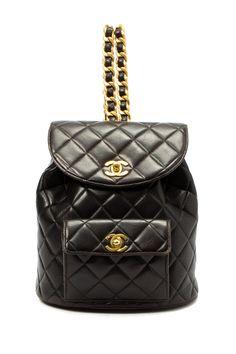 b0aaca67743e Chanel Black Backpack Buy Chanel Bag, Chanel Backpack, Leather Backpack, Black  Backpack,