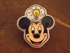 Mickey Mouse Night Light/Mickey Mouse/Vintage Mickey Mouse/Children's Room Decor/1980's/Vintage Night Light/Walt Disney World/Memorabilia