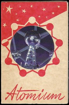 The Atomium is a building in Brussels originally constructed for Expo '58, the 1958 Brussel's World's Fair...