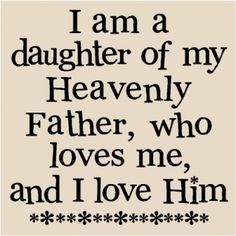 T090 I am a daughter of my heavenly father, who loves me, and i love him 12x12 vinyl wall art decals lettering words home decor sayings quote stickers at the Shopping Mall, $8.99 (USD)