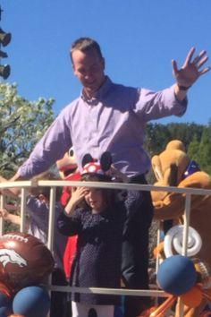 Peyton at Disney with his twins