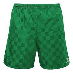 Men's Umbro Checkerboard Shorts, Size: Medium, Green
