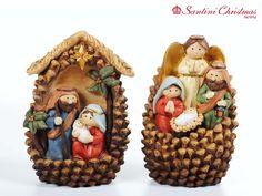 Nacimiento / Nativity Set Kids Christmas Ornaments, Nativity Ornaments, Christmas Favors, Nativity Crafts, Christmas Nativity, Christmas Holidays, Christmas Crafts, Christmas Decorations, Acorn Crafts