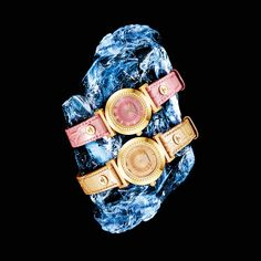 Experience the power of Versace style with the Versace Vanity colours, the distillation of pure energy and glamour. #Versace #VersaceWatches