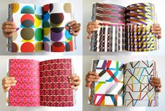 Over 260 pattern illustrations and a CD of 100 pattern fonts - Geometric Book from Kapitza: $95