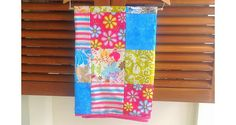 Tutorial: Patchwork baby blanket - Very nice tutorial on making and attaching binding.