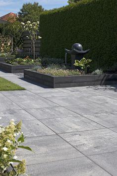 redsun sierbestrating - strakke tegels grijs zwart - smartton 60x60