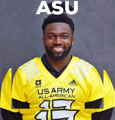 """NATIONAL BOOM 4* RB Eno Benjamin pledges ASU Sun Devils (5'10""""/203) from Wylie East HS, TX has just announced his commitment to Arizona State. Amongst his 25 offers, Benjamin chose the Sun Devils over Nebraska, Michigan, Utah, and Texas. SCOUT ranks Benjamin the no. 106 Recruit Nationally and the 10th best running back in the 2017 Class. DieHard-Apparel.com"""