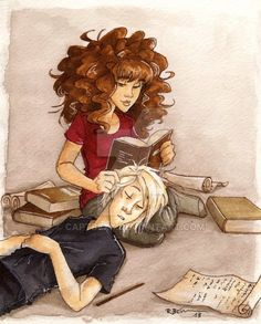 Malfoys don't need to study by CaptBexx on DeviantArt