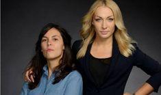 Pauline Hillier et Inna Schevchenko © Hermance-Triay/Le Seuil
