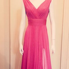 Strawberry ice - pantone summer 2015  Evening dress Deea Buzdugan spring/summer 2015 collection
