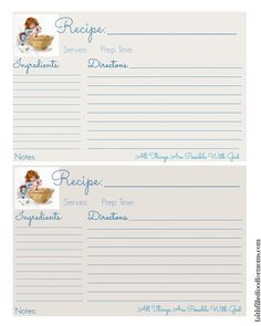 There is just something about a handwritten recipe on a homemade recipe card, don't you think?  I have recipes from my Mom and Grandmother that I cherish on tons of them… I know that you can easily print out my recipes but I thought it would be fun to make a  Recipe Card Printable for...Read More »
