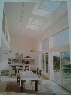 Velux skylights reflect heat and block UV rays. | tiny image from homebeautiful.com.au {March 2014} p130