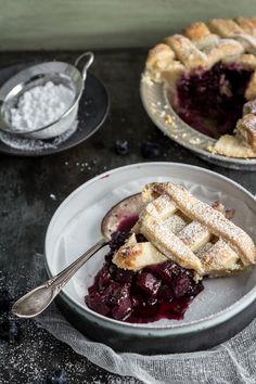 Blueberry Apple Pie.