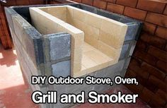 DIY Outdoor Stove, Oven, Grill and Smoker. This DIY outdoor stove, oven, grill and smoker in one would make a very cool, needed necessity if SHTF.