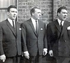 Krays twins # the Krays. # Apple of their mother's eye: The Kray twins, with elder brother Charles,