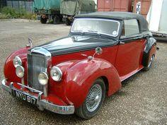 Alvis TA21 Tickford Drophead Coupe 1953