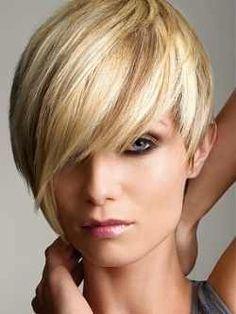 I luv the color and the haircut!