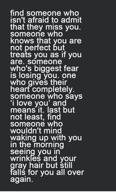 Find someone who will love you for you! - Relationship Rules