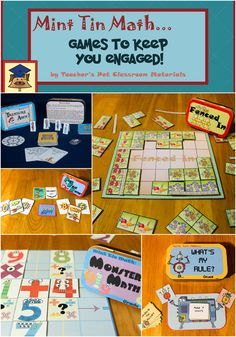 Great printable math games to challenge and engage kids!
