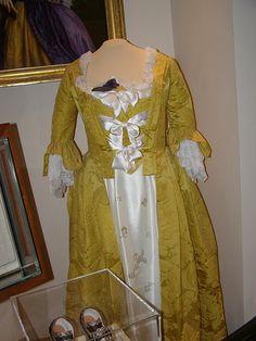 Martha Washington's Wedding Dress