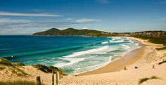 Great waves & beach at #Forster, #NSW http://www.forstermotorinn.com.au/attractions.html