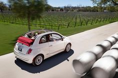 """""""Everything looks better from the #FIAT500c.  # #FIAT #FIATUSA #Ciaobaby #FIATlove #500Love #FIATfamily #Italian #CarPorn #CarsWithoutLimits #ItalianStyle…"""""""