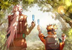 HD wallpaper: Naruto (anime), Uzumaki Naruto, Jiraiya, Naruto Shippuuden