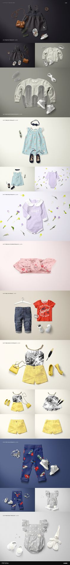 simple homes mockup creator - product mockups template / photo, Template For Children Clothing Presentation, Presentation templates