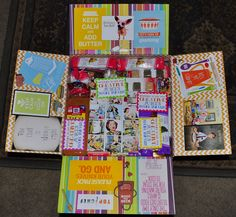 Our missionary care package kits & ideas provide fun, creative, spiritual ways for you to send care packages to your missionaries. Missionary Care Packages, Missionary Gifts, Sister Missionaries, Gifts For Him, Projects To Try, Packaging, Box, Creative, Cards