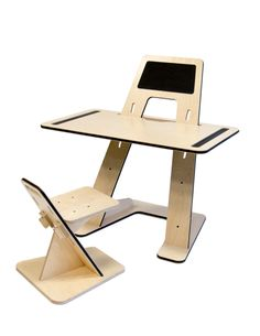 AZ DESK by Guillaume Bouvet, bureau, evolutif design, made in France