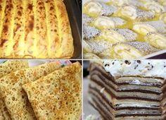 NapadyNavody.sk | Fenomenálna MONTE torta bez pečenia Czech Recipes, Russian Recipes, Cookie Desserts, Christmas Goodies, Bread, Cookies, Baking, Nutella, Sweet