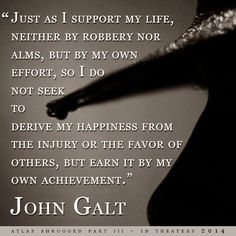 Who is John Galt anyway? Motto Quotes, Quotable Quotes, Wisdom Quotes, Words Quotes, Life Quotes, Sayings, Ayn Rand Books, Favorite Quotes, Best Quotes