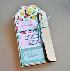 Little Bo Peep Collection Accordian Style Blessings Card. #cratepaper #inspiration