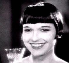 Louise Brooks - a rare smiling shot.