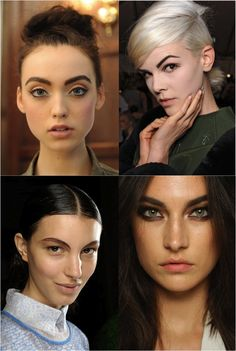 Top Makeup Trends For Spring 2013 - Strong Eyebrows