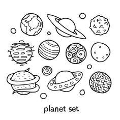 Solar System Coloring Pages For Kids. Here you can find the different planets our solar system in the Solar System coloring pages. The solar system is a planeta Solar System Coloring Pages, Planet Coloring Pages, Space Coloring Pages, Preschool Coloring Pages, Fall Coloring Pages, Coloring Pages To Print, Free Printable Coloring Pages, Coloring Sheets, Coloring Books