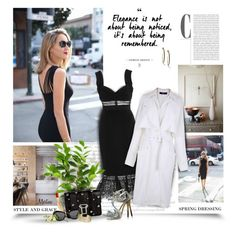 """""""Elegance Is Not About Being Noticed,It's About Being Remembered"""" by thewondersoffashion ❤ liked on Polyvore featuring self-portrait, TIBI, Christian Louboutin, Proenza Schouler, Miu Miu, Jimmy Choo and Blue Nile"""