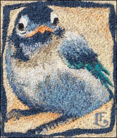 just discovered Lauren Evatt Finley's work. great tutorial on how to turn colored pencil sketches into fabric art using free-motion machine embroidery