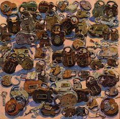 lucy culliton - Google Search Contemporary Australian Artists, Australian Painting, Life Is Beautiful, Jessie, Painters, Still Life, Objects, Collections, Colours