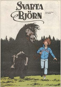 Lena Furberg horses Black Bear