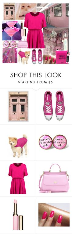 """""""You Can't Tell Me What to Do"""" by christined1960 ❤ liked on Polyvore featuring Pottery Barn, Converse, 32 Degrees, IRO, Dolce&Gabbana, Clarins and Pinch Provisions"""