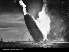 May 6, 1937, as the German passenger airship LZ 129 Hindenburg caught fire and was destroyed during its attempt to dock with its mooring mast at Naval Air Station Lakehurst in Manchester Township, New Jersey, United States. Of the 97 people on board, there were 35 fatalities (13 passengers and 22 crewmen). 1 worker on the ground was also killed, raising the final death toll to 36.