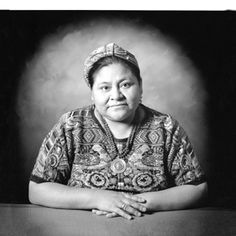 What a cool photo of Rigoberta Menchu, a truly inspirational indigenous Guatemalan woman. www.cooperativeforeducation.org