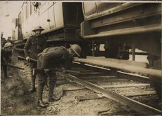 British soldiers searching trains on Kerry line for republicans