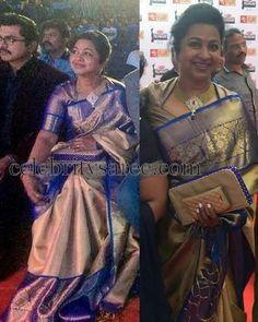 Nice pendant and sari